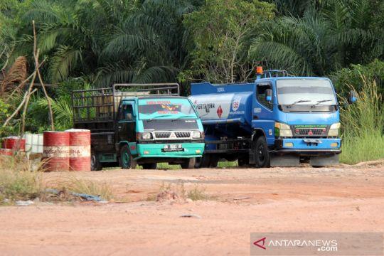 "Marak praktik truk tangki BBM ""kencing di jalan"" di Dumai"
