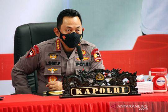 Kemarin, sidak Lapas Tangerang sampai apresiasi lomba mural Polri