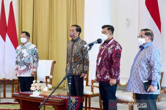 Mendagri dampingi Presiden Jokowi membuka Apkasi Expo 2021