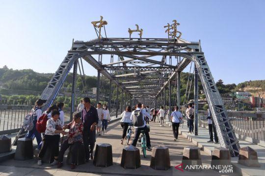 Objek wisata di China barat laut tutup