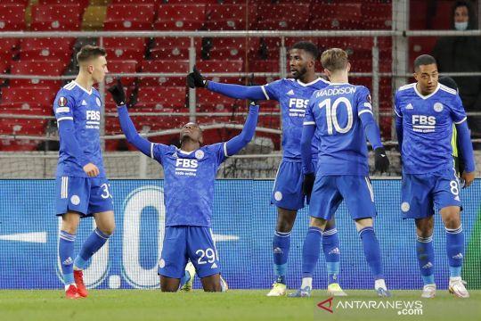 Liga Eropa: Empat gol Patson Daka menangkan Leicester City atas Spartak Moscow