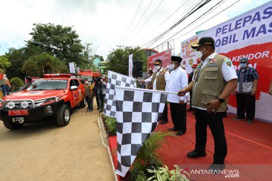 BNPB bagikan 332 ribu masker untuk warga Ambon