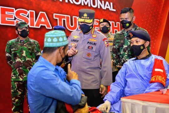 Kapolri: Soliditas dan sinergitas TNI-Polri wujudkan kekebalan komunal