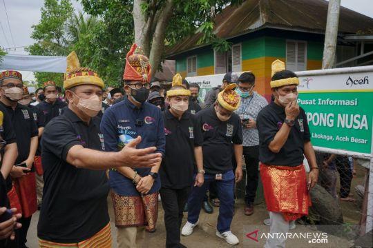 Menparekraf pertimbangkan buka pintu wisata bagi wisman ke Aceh