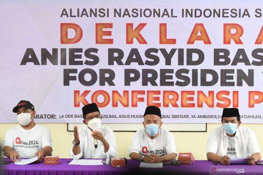 Relawan deklarasikan Anies sebagai Calon Presiden 2024-2029
