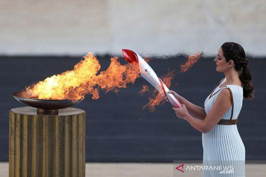 Api Olimpiade tiba di China jelang Olimpiade Musim Dingin Beijing 2022