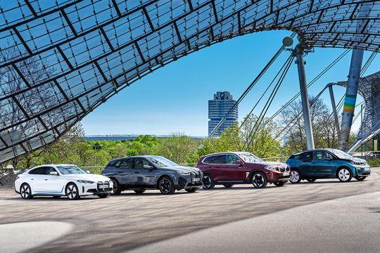 BMW jual 1,9 juta unit sampai September, 200.000 mobil listrik
