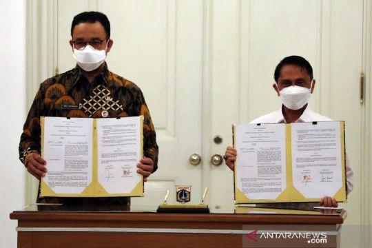 DKI jalin kerja sama ekonomi dengan Pemkab Gorontalo dan Blitar