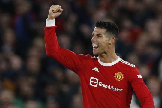 Ronaldo sesumbar MU tak pernah menyerah