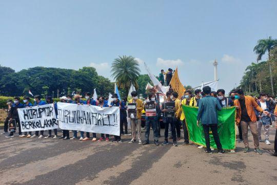 Tujuh tahun Jokowi, ratusan mahasiswa gelar aksi sampaikan 12 tuntutan