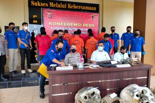 Kejaksaan Negeri Aceh Jaya terima berkas pembunuh lima gajah