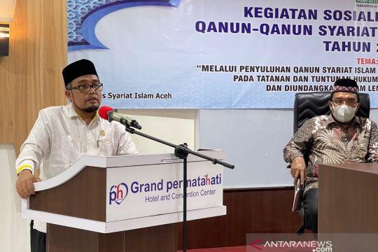 DPRA minta sosialisasi qanun syariat Islam di Aceh diperluas