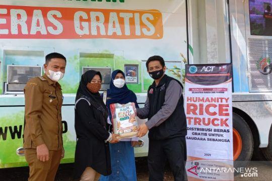 ACT penuhi kebutuhan beras gratis untuk masyarakat di Payakumbuh
