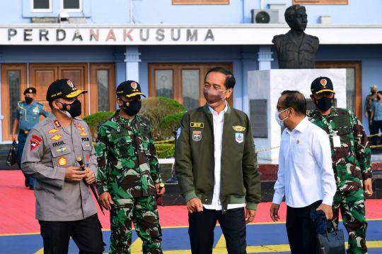 Presiden bertolak ke Kalimantan Selatan untuk lakukan kunjungan kerja