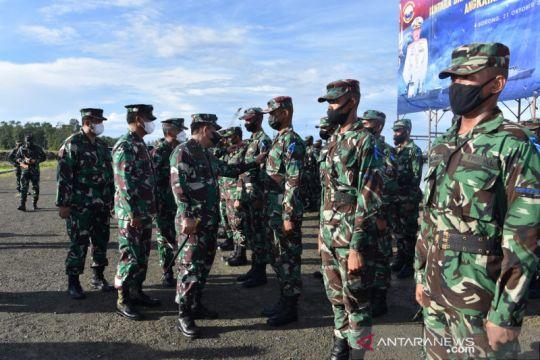 Sebanyak 249 prajurit TNI AL rekrutan Papua resmi menjalankan tugas