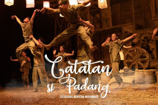 Komunitas Seni Nan Tumpah pentaskan historis Padang dalam teater