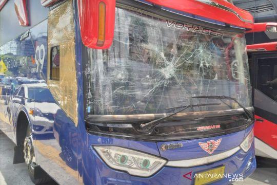 Polisi tangkap pelaku perusakan bus Arema FC di Yogyakarta