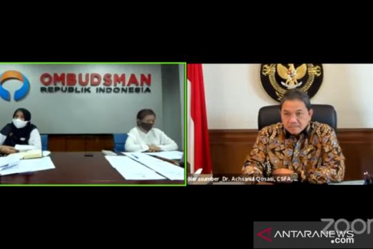 Anggota BPK sebut penguatan Ombudsman upaya pemerintah perbaiki diri