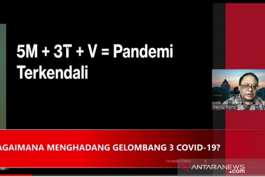 Epidemiolog ungkap rumus rahasia pengendalian COVID-19 di Indonesia