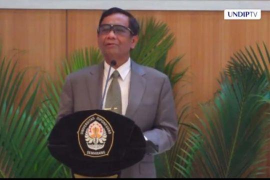Mahfud MD: Lulusan kampus jadi koruptor tak sampai 1 persen