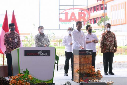 Presiden Jokowi resmikan pabrik biodiesel PT Jhonlin Agro Raya