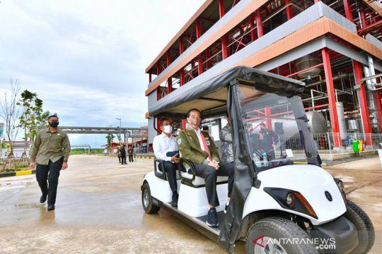 Presiden Jokowi dorong pengolahan CPO jadi biodiesel