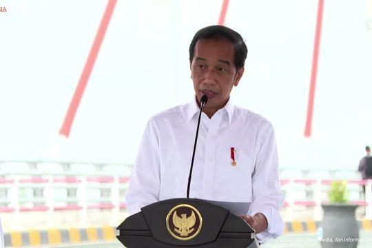 Presiden resmikan Jembatan Sei Alalak di Banjarmasin