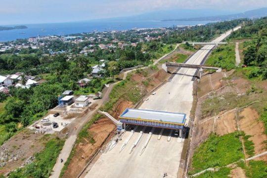 Jasa Marga targetkan Tol Manado-Bitung Seksi 2B rampung November 2021