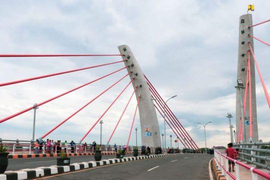 Menteri PUPR: Jembatan Sei Alalak jadi destinasi wisata Banjarmasin