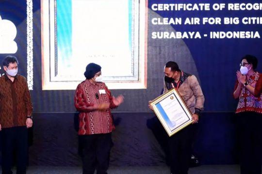 Surabaya raih penghargaan udara terbersih se-Asia Tenggara