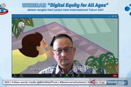 Kominfo sebut penggunaan digitalisasi pada lansia masih rendah