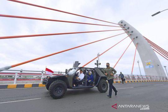 Gubernur bersyukur Kalsel banyak mendapatkan infrastruktur strategis