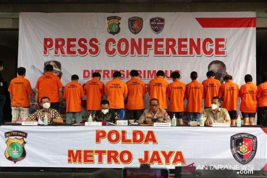 Polda Metro Jaya gerebek lima kantor pinjol ilegal selama Oktober
