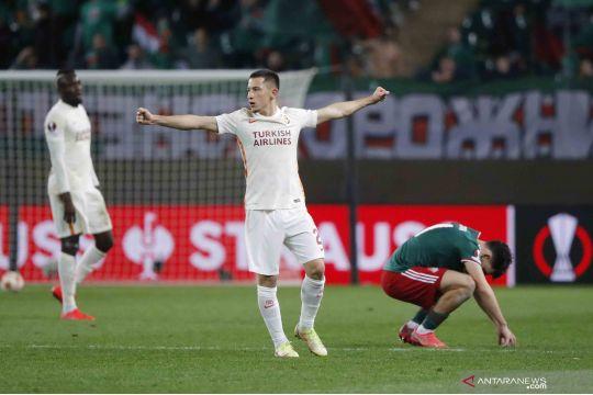 Liga Eropa: Lokomotiv Moscow kalah dari tamunya Galatasaray 0-1