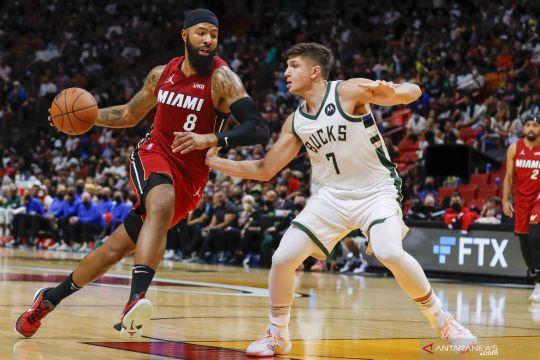 NBA: Miami Heat tundukkan Milwaukee Bucks 137-95
