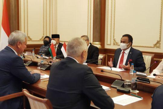 Parlemen RI-Belarus sepakat dorong kerja sama ekonomi lebih intensif