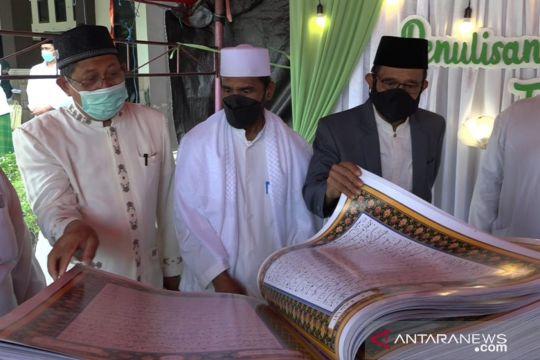 Kemenag Sulteng luncurkan Al Quran tulisan tangan 400 santri