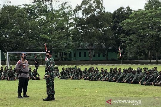 Panglima berkunjung ke Timika ingatkan prajurit tugas belum selesai