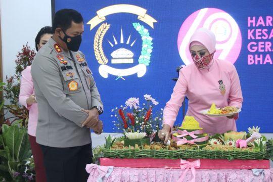 Kapolda Sulut ajak Bhayangkari dukung tugas Polri