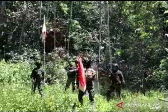 Satgas TNI patroli cek patok batas negara RI-Papua Nugini MM 2.2