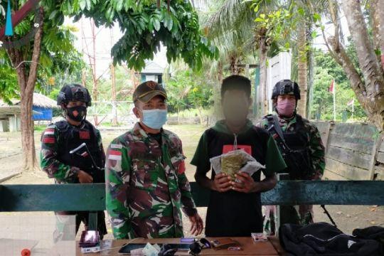 Satgas TNI gagalkan penyelundupan ganja di perbatasan PNG