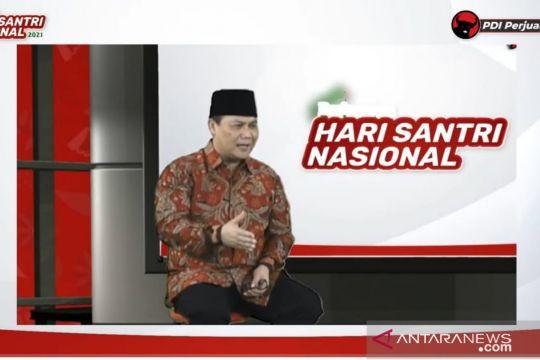 PDIP sebut Jokowi tunaikan harapan pendiri bangsa melalui Hari Santri