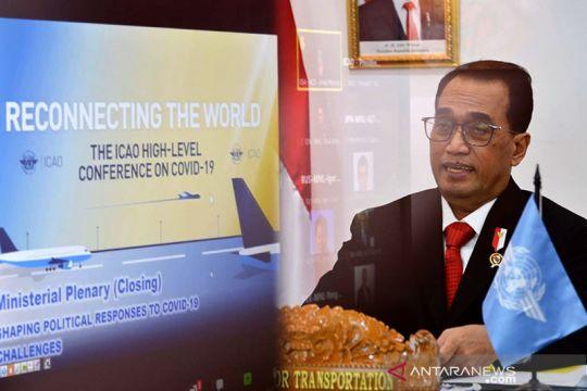Menhub: Gagasan Indonesia pulihkan penerbangan sipil global diterima