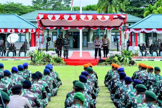 Kapolri semangati prajurit TNI-Polri bertugas jaga kamtibmas di Papua