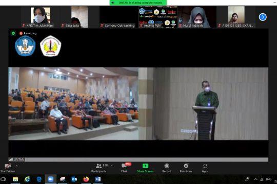 KPK ajak sivitas akademika Untan dukung pemberantasan korupsi