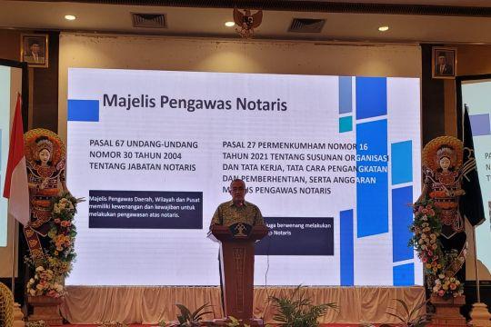 Kemenkumham: Notaris wajib pakai goAML cegah transaksi ilegal