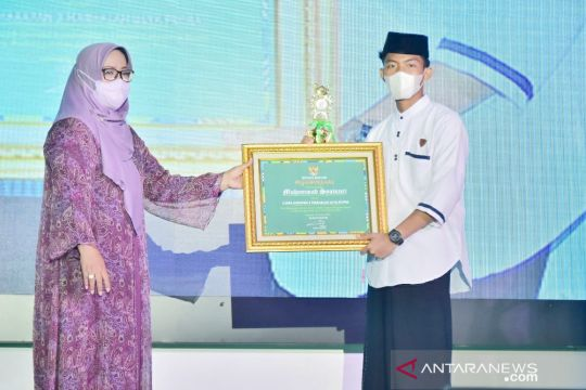 Pemkab Bogor bagikan penghargaan di Hari Santri Nasional 2021