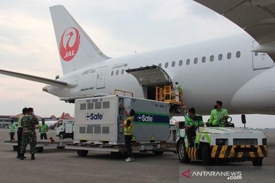 Indonesia terima kedatangan Pfizer dan AstraZeneca tahap ke-97 dan 98