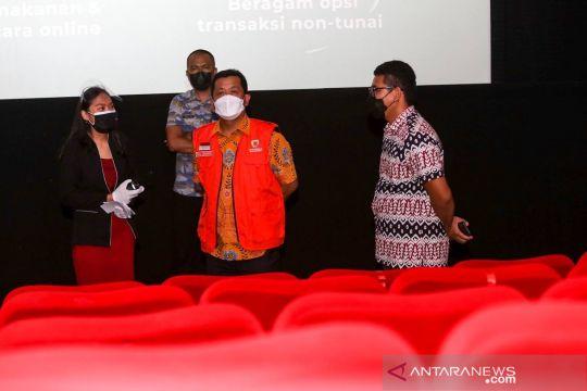 Pemkot Bandung izinkan kapasitas bioskop hingga 70 persen