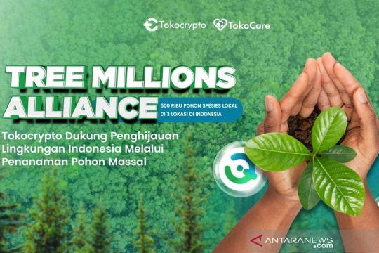 Tokocrypto berkolaborasi dengan Tree Millions Alliance